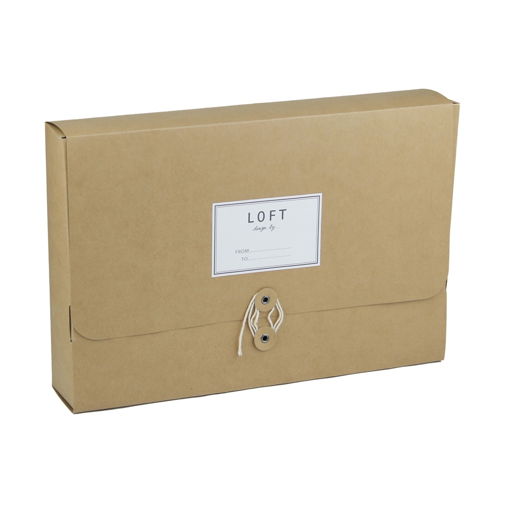 Loft Packaging Of Kraft Clothing Box
